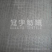 Kettstrick geprägtes Wildleder für Heimtextilien