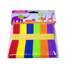 handmade rainbow coloridos coloridas barras de sorvete de madeira