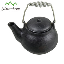 Hot Sale Large Unique Cool Blue Coated Cast Iron Enamel Tea Kettles