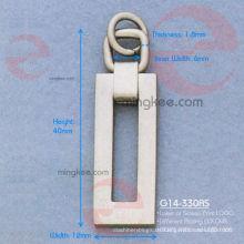 """Zipper Puller / Slider für Buchstaben """"O"""" (G14-330AS)"""