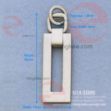 "Lettre ""O"" Zipper Puller / Slider (G14-330AS)"