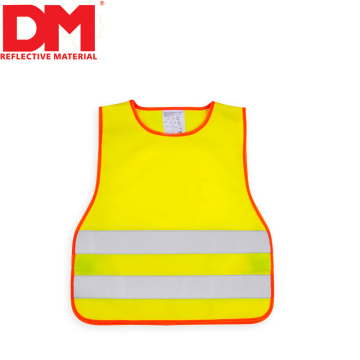 Unsiex Gender customized children hi vis vest Keyword school kids reflective saftey vest