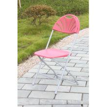 plastic/steel folding chair