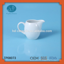 white ceramic coffee creamer jar,best selling products custom white ceramic milk jar