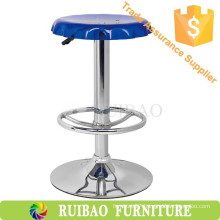 Blue Acrylic Modern Swivel High Bar Stools Bar Chair Online
