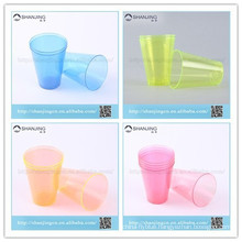 7oz 200ml disposable hard plastic tea beverage cup for wedding party