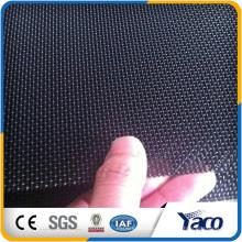 Pare-brise anti-effraction en acier inoxydable noir