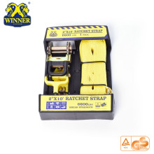 Package 2 Inch Industrial Transport Tie Down Ratchet Strap