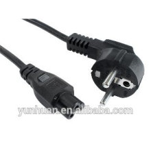 European standard certification of the power cord with modern popular the power cord plug