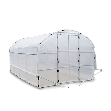 Tunnel PE Flim Greenhouse For Vegetables / Flower