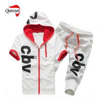 Cultive One's moralidade lazer puro algodão impressão t-shirt calças (ZJ-6904)