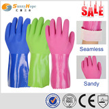 SunnyHope PVC sandy finish EN374 Chemical Resistant gloves