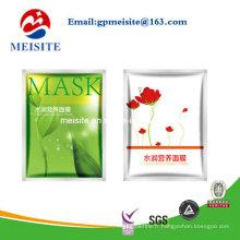 Sac de masque facial à fermeture à l'usine et facile à ouvrir