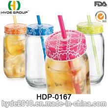 Vaso libre plástico de la pared doble de la promoción de 16oz BPA (HDP-0167)