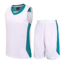 Jersey de baloncesto de poliéster Uniforme de diseño