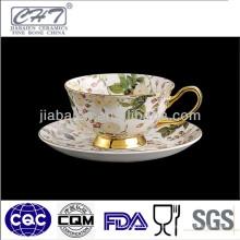 Tazas de té impresas personalizadas de porcelana de buena calidad