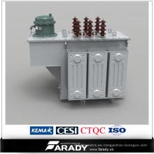 Controlador de Compensación Automática de Poder Reactivo Inmerso en Aceite Trifásico