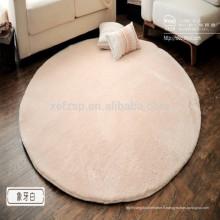 tapis de yoga en soie microfibre rond sur les prix du marché
