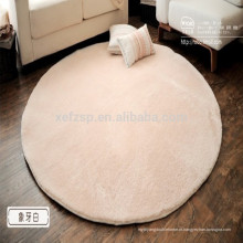 tapete de ioga de microfibra de seda redonda em preços de mercado