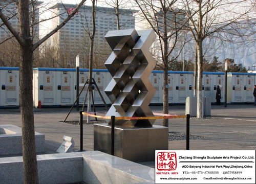 Customer Decoration Stainless Steel Sculpture