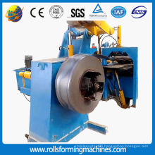 Thin sheet leveling and cut to length machine