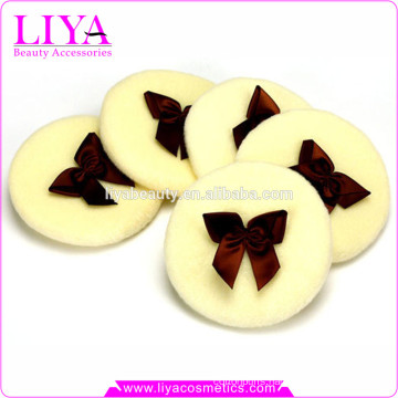 cosmetic baby powder puff cosmetic cotton facial pads hot sale