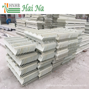 Short Insulation Period Cooling Tower Demister Vane Pack Mist Eliminator