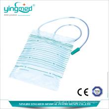 Sac de drainage urinaire jetable 2000 ml