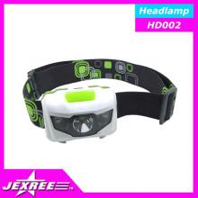 Jexree impermeável Outdoor Camping levou cabeça lâmpada / farol / farol 800 lumens luz da bicicleta LED