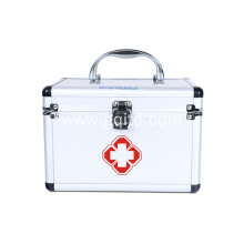 Home Office ALuminium Frame Medicine Cabinet First Aid Kit