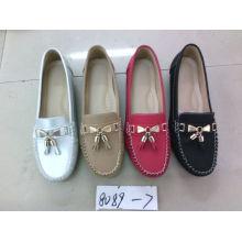 Falt & Comfort Señora zapatos con suela TPR (SNL-10-060)
