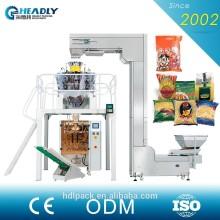 Multi function automatc snap bean, rice ,sugar weighing packaging machine