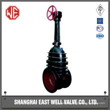 Big size cast iron gate valve