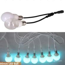 E27 DMX RGB LED Bulb for Ceiling