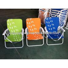 Hogar y exterior plegable uso silla de playa de la pesca.