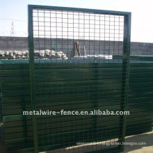 fence iron gate