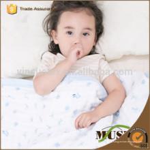 Мягкая, экологически чистая узорчатая ткань из муслина, пеленание муслина