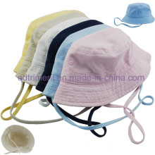 Washed Cotton Twill Leisure Fishing Bucket Hat Cap (TMBH9459-1)