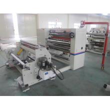 Máquina de corte e rebobinamento de fita adesiva