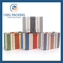 High End Cosmetic Packing Paper Bag with Handle (DM-GPBB-141)