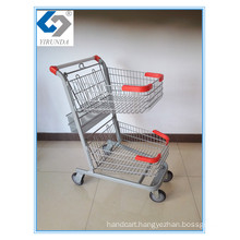 Three Baskets Hand Shopping Trolley