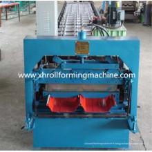 Métal émaillé Cold Roll Forming Machine prix de toiture galvanisé