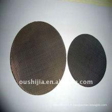 Fil de grille métallique en pot en acier inoxydable