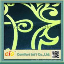Multitud caliente al por mayor del poliéster de la materia textil en la tela del sofá de la multitud América