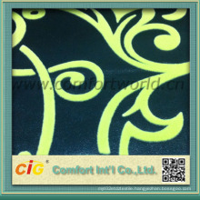 Sofa Fabric Cloth with Flocking