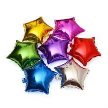 Balão dado forma costume do hélio da folha, balão da folha de alumínio