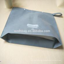 Free Samples Snap Verschluss 70gsm Non Woven Einkaufstasche
