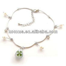 Lucky yichongtang four leaf clover bracelet/bangle