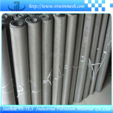 Malla de alambre cuadrada de acero inoxidable utilizada en la fabricación de máquinas