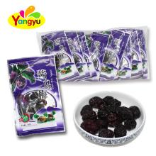 Dried Sour Black Plum Fruit